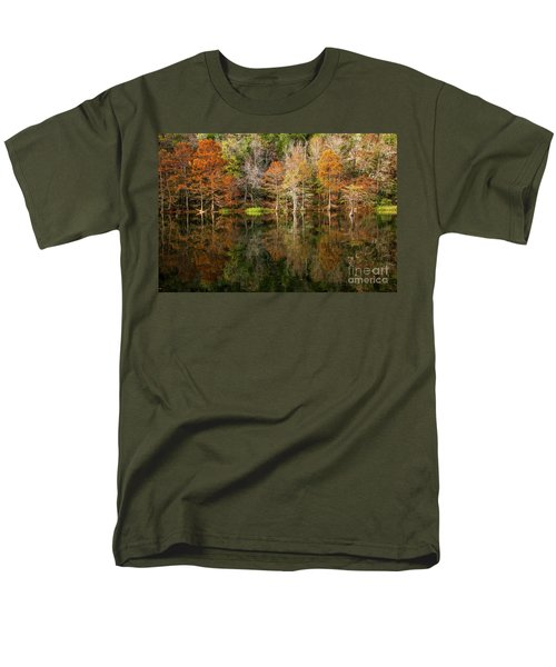 Men's T-Shirt  (Regular Fit) featuring the photograph Crystal Clear by Iris Greenwell