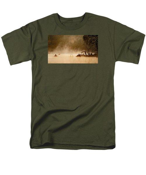 Cutting Through The Mist Men's T-Shirt  (Regular Fit) by Robert Charity