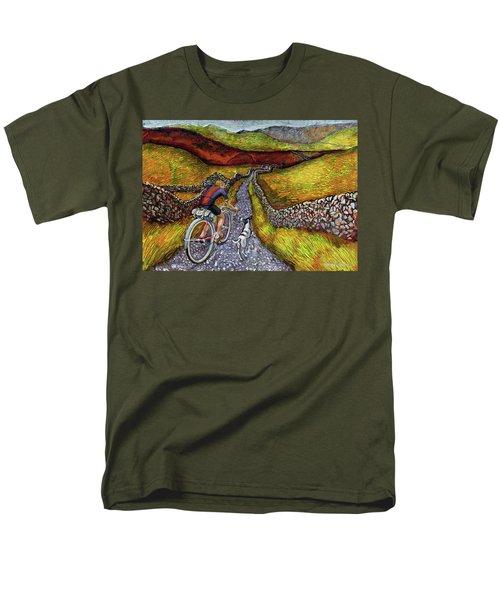 Lancashire Lanes II Men's T-Shirt  (Regular Fit) by Mark Jones
