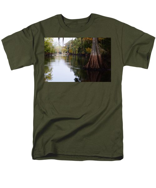 Cypress High Water Mark Men's T-Shirt  (Regular Fit) by Warren Thompson