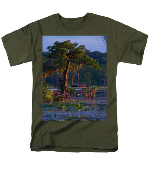 Cypress In The Sunset Men's T-Shirt  (Regular Fit) by Kimo Fernandez