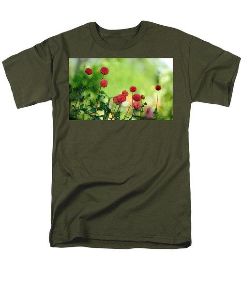 Dahlias Men's T-Shirt  (Regular Fit) by Diane Giurco