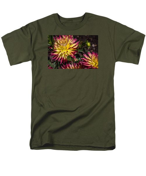 Men's T-Shirt  (Regular Fit) featuring the photograph Dalhia by Randy Bayne