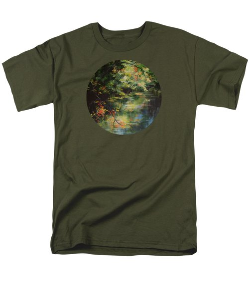 Dance Of Color And Light Men's T-Shirt  (Regular Fit) by Mary Wolf