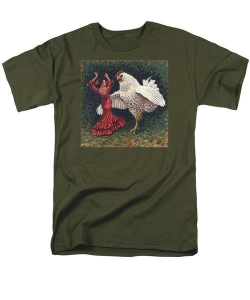 Dancers El Gallo Men's T-Shirt  (Regular Fit) by Holly Wood
