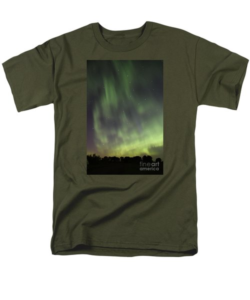 Men's T-Shirt  (Regular Fit) featuring the photograph Dancing With The Dipper by Larry Ricker