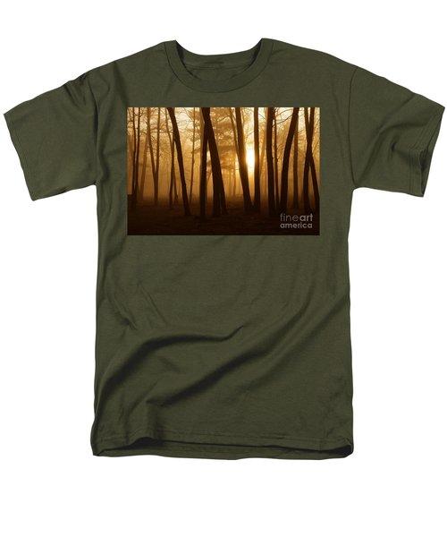 Dark Forest Men's T-Shirt  (Regular Fit) by Terri Gostola