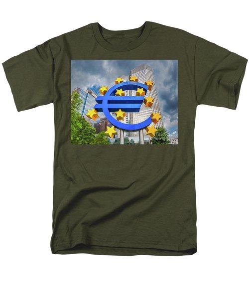 Money Troubles Men's T-Shirt  (Regular Fit) by JR Photography