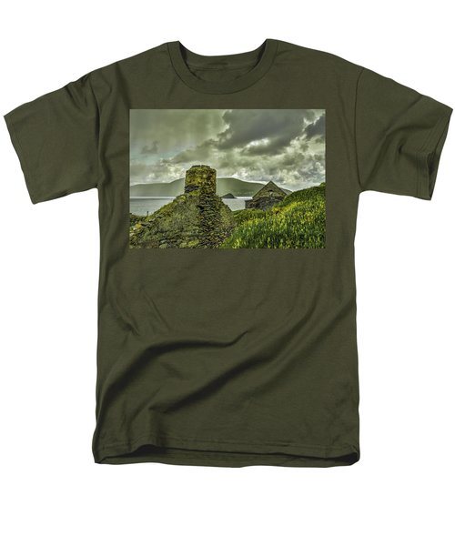 Dark Sky #g0 Men's T-Shirt  (Regular Fit) by Leif Sohlman