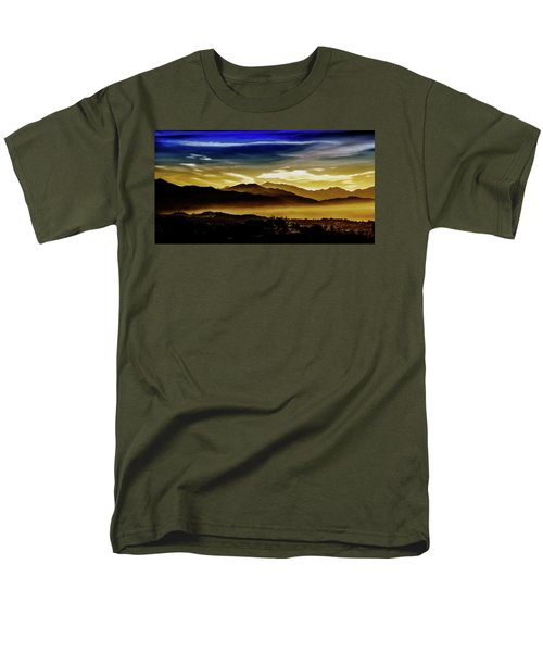 Men's T-Shirt  (Regular Fit) featuring the photograph Day Break 2a1 by Joseph Hollingsworth