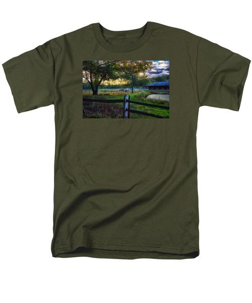 Day Is Nearly Done Men's T-Shirt  (Regular Fit) by Tricia Marchlik