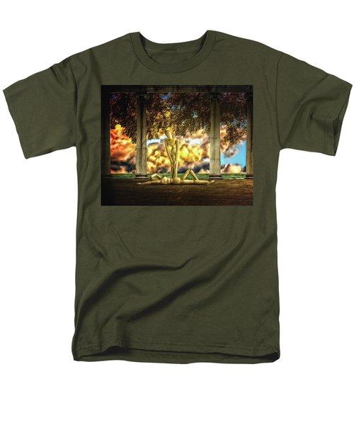 Men's T-Shirt  (Regular Fit) featuring the photograph Daybreak Redux by Mark Fuller