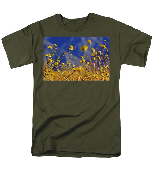 Death Valley Superbloom 505 Men's T-Shirt  (Regular Fit) by Daniel Woodrum