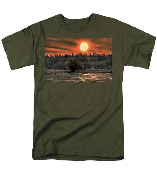 December Sun #f3 Men's T-Shirt  (Regular Fit) by Leif Sohlman