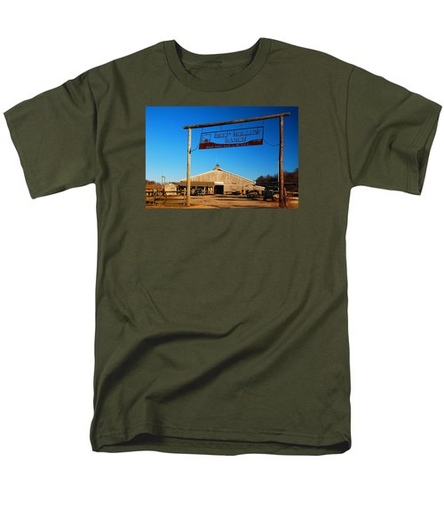 Men's T-Shirt  (Regular Fit) featuring the photograph Deep Hollow Ranch  by James Kirkikis