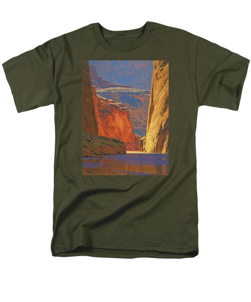 Deep In The Canyon Men's T-Shirt  (Regular Fit) by Cody DeLong