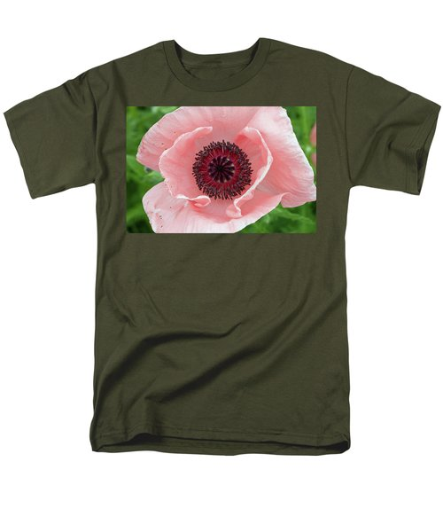 Deep Pink Men's T-Shirt  (Regular Fit) by Jim Gillen