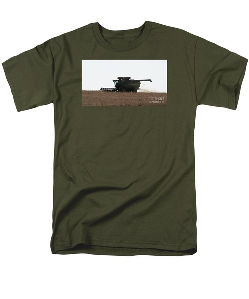 Men's T-Shirt  (Regular Fit) featuring the photograph Deere Harvesting by J L Zarek