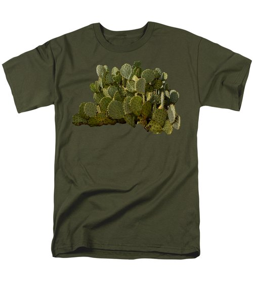 Desert Prickly-pear No6 Men's T-Shirt  (Regular Fit) by Mark Myhaver