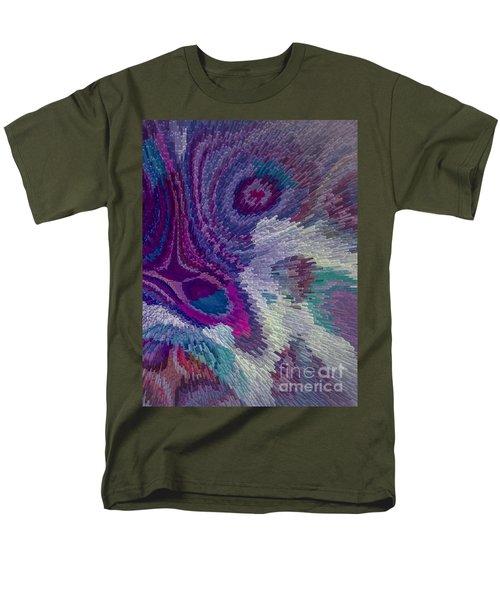 Genetic Modified Iris Men's T-Shirt  (Regular Fit) by Moustafa Al Hatter
