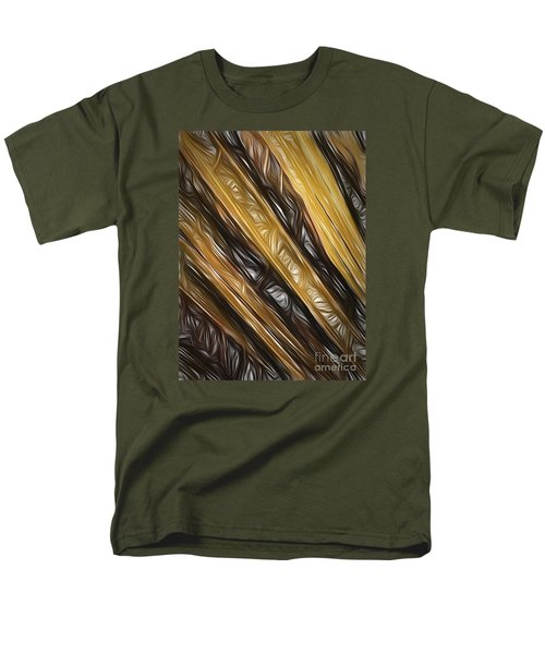 Men's T-Shirt  (Regular Fit) featuring the photograph Diagonals  ... by Chuck Caramella