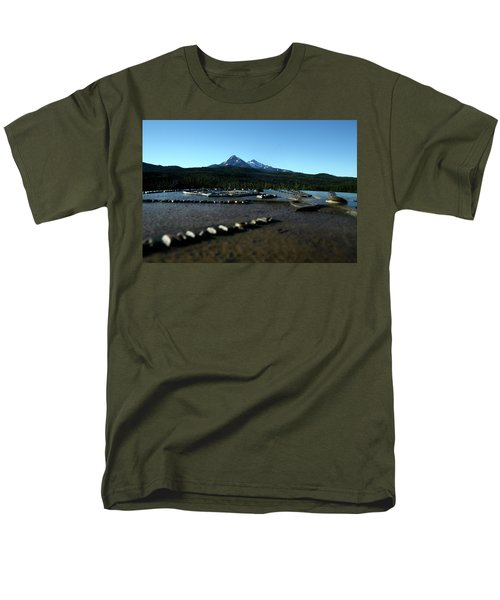 Men's T-Shirt  (Regular Fit) featuring the photograph Directional Points by Laddie Halupa