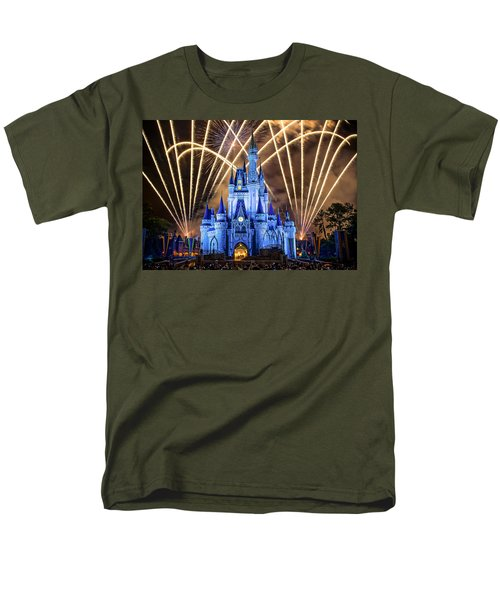 Disney World Men's T-Shirt  (Regular Fit) by Anna Rumiantseva