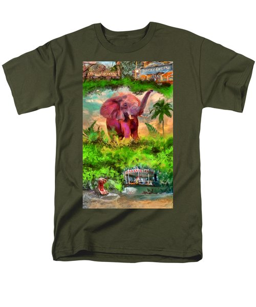 Disney's Jungle Cruise Men's T-Shirt  (Regular Fit) by Caito Junqueira