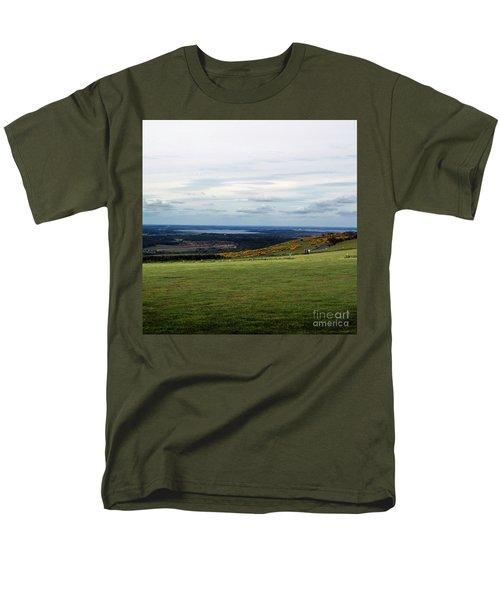 Men's T-Shirt  (Regular Fit) featuring the photograph Distance by Sebastian Mathews Szewczyk