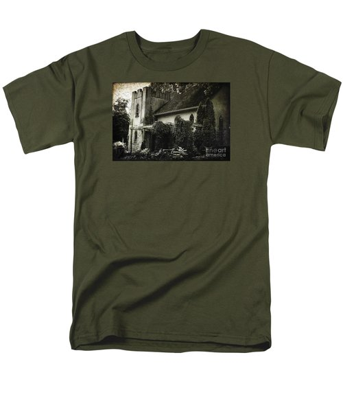 Men's T-Shirt  (Regular Fit) featuring the photograph Distressed by Judy Wolinsky