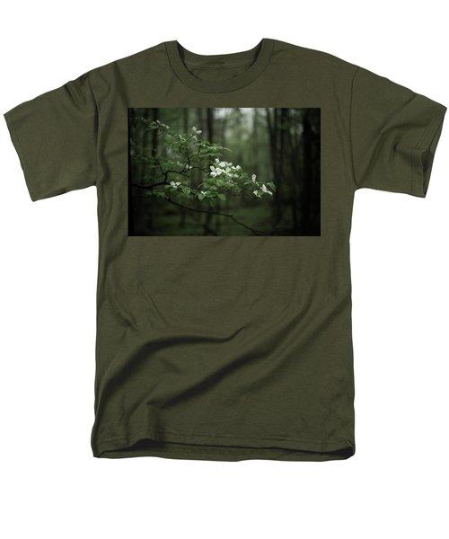 Dogwood Branch Men's T-Shirt  (Regular Fit)