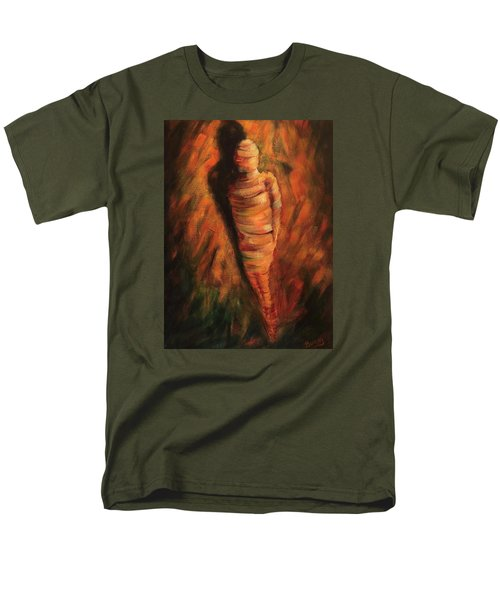 Men's T-Shirt  (Regular Fit) featuring the painting Doll by Randol Burns