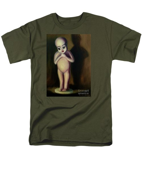 Men's T-Shirt  (Regular Fit) featuring the painting Dollie by Randol Burns