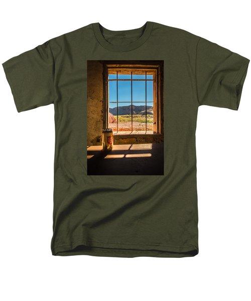 Don't Mess With Texas Men's T-Shirt  (Regular Fit) by Allen Biedrzycki