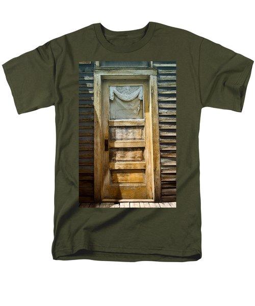 Doors Of St Elmo I Men's T-Shirt  (Regular Fit) by Ellen Heaverlo