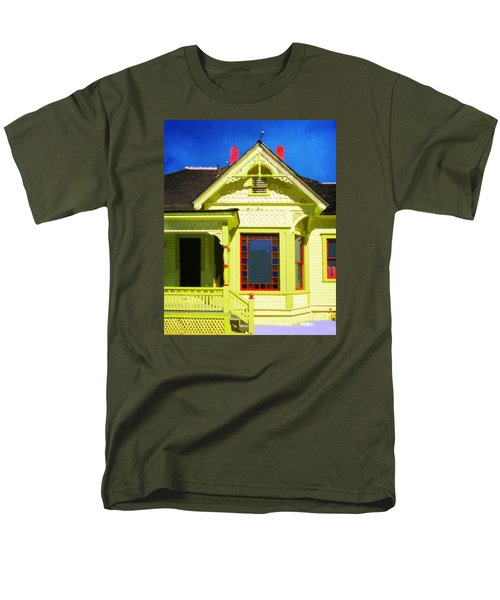 Dr. Clark's House 2 Men's T-Shirt  (Regular Fit) by Timothy Bulone