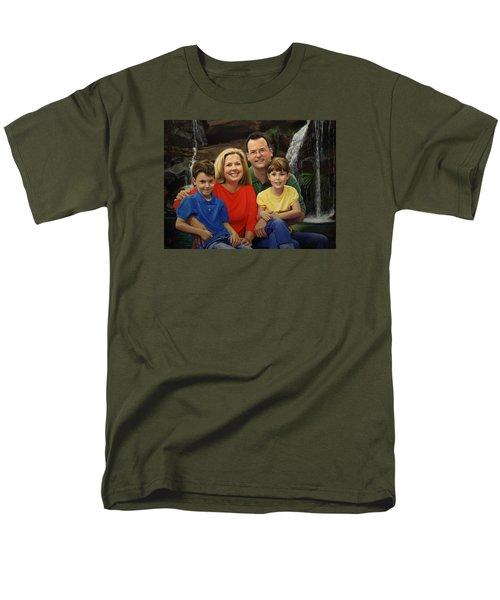 Dr. Devon Ballard And Family Men's T-Shirt  (Regular Fit)