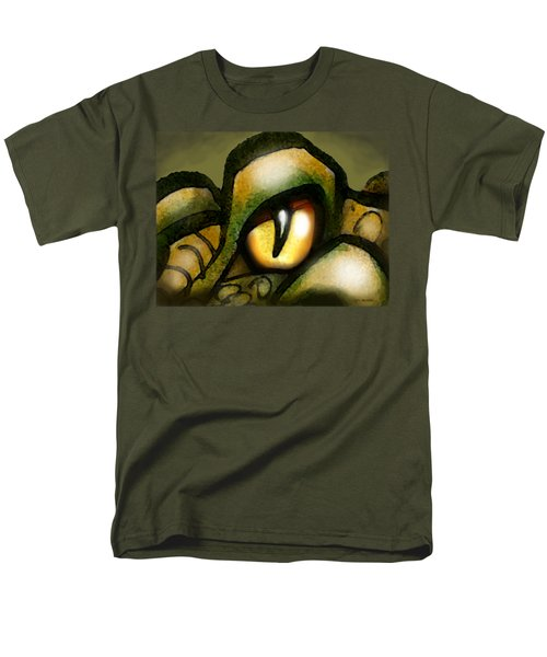 Dragon Eye Men's T-Shirt  (Regular Fit) by Kevin Middleton