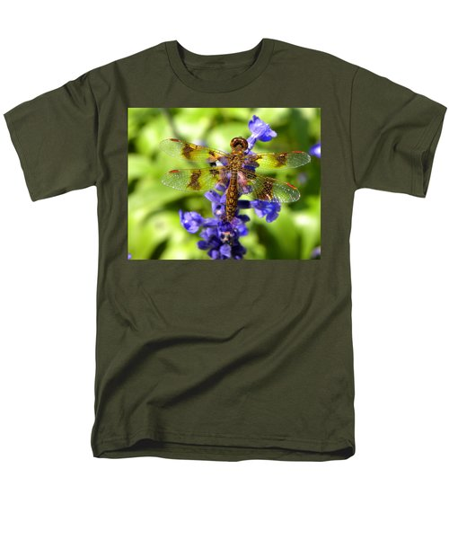 Men's T-Shirt  (Regular Fit) featuring the photograph Dragonfly by Sandi OReilly