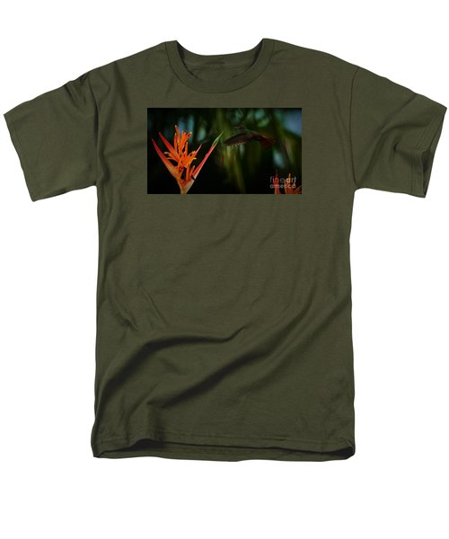 Men's T-Shirt  (Regular Fit) featuring the photograph Drawn To Beauty by Pamela Blizzard