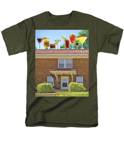 Drinks On The House Men's T-Shirt  (Regular Fit) by Nikolyn McDonald