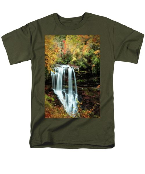 Dry Falls Autumn Splendor Men's T-Shirt  (Regular Fit) by Deborah Scannell