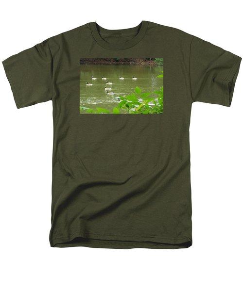 Men's T-Shirt  (Regular Fit) featuring the photograph Duck Nation  by Jake Hartz