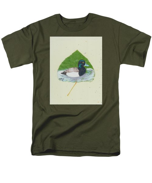 Duck On Pond #2 Men's T-Shirt  (Regular Fit) by Ralph Root