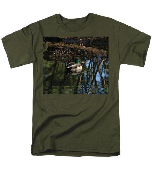 Duck Resting Men's T-Shirt  (Regular Fit) by John Rossman