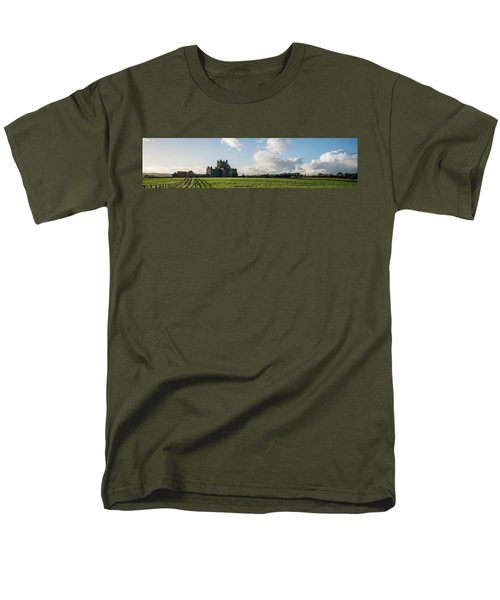 Dunbrody Abbey Men's T-Shirt  (Regular Fit) by Martina Fagan