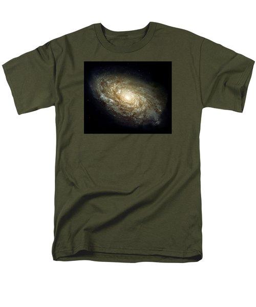 Dusty Spiral Galaxy  Men's T-Shirt  (Regular Fit)