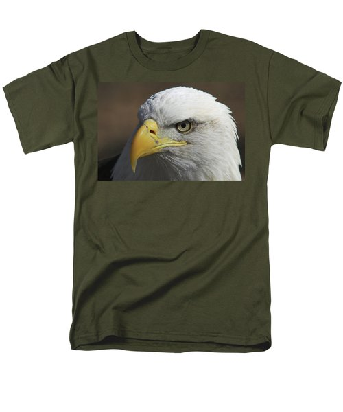 Men's T-Shirt  (Regular Fit) featuring the photograph Eagle Eye by Steve Stuller