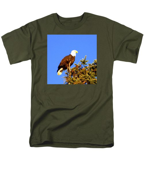 Eagle Men's T-Shirt  (Regular Fit) by Jerry Cahill