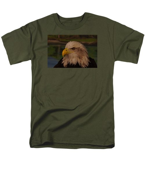 Men's T-Shirt  (Regular Fit) featuring the photograph Eagle  by Steven Clipperton